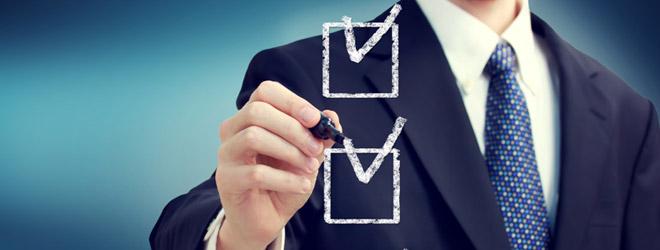 Checklist Webshop